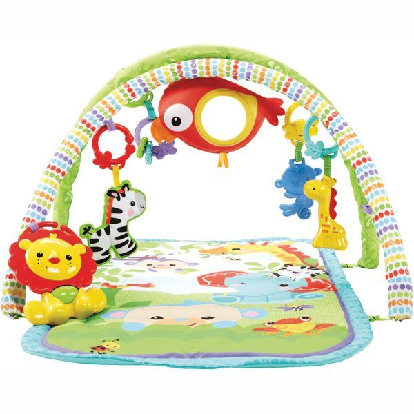 Tapis d'éveil Amis de la Jungle 3 en 1, Fisher-Price