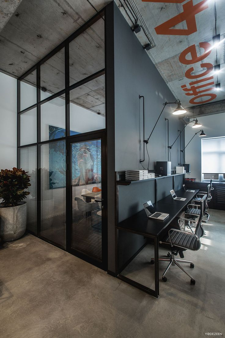 Industrial Office Design Ideas Cool Best 25 Industrial Office Design Ideas On Pinterest  Industrial Inspiration
