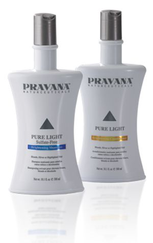 Pravana Pure Light Brightening Shampoo and Conditioner