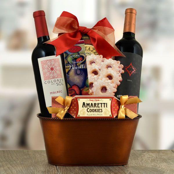 Malbec Red Duo Gift Basket $65.99Item # 260  Free Shipping