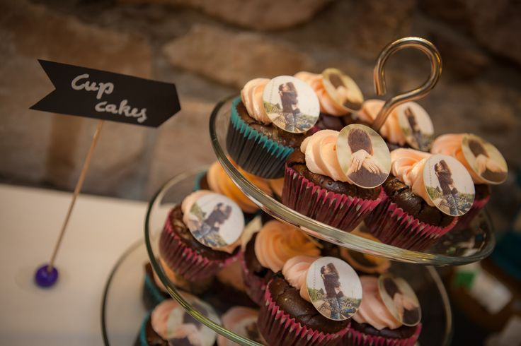 Wedding cupcakes for a friend's wedding back in June 2016. Photo credit: Christian Kolb