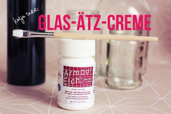 amour etch creme zum Ätzen von Glas