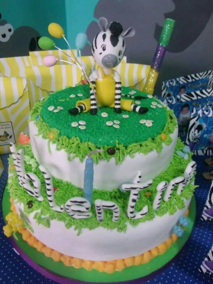Zou zebra cake