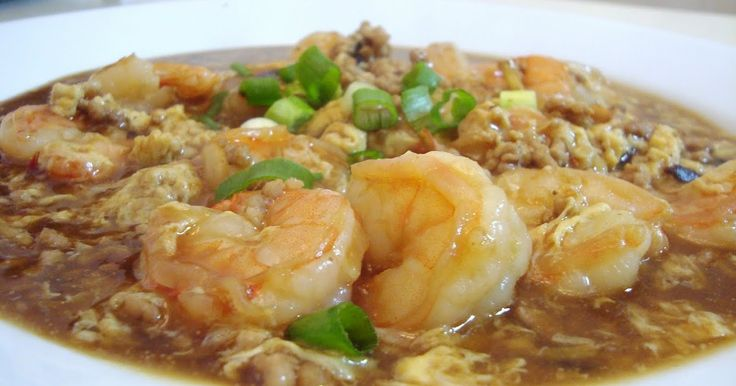 Chinese Food Fix: Shrimp W/ Lobster Sauce