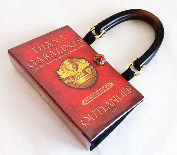 Outlander recyclé Book Purse - Outlander livre embrayage - Outlander livre couverture sac à main