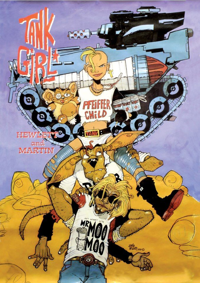 Tank Girl by Jamie Hewlett and Alan Martin