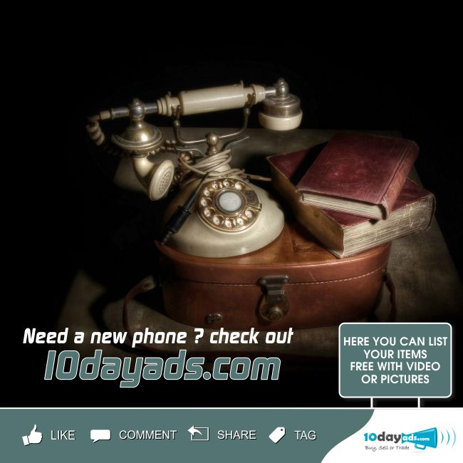 Need a new phone? check out 10dayads.com #Phone #NewPhone #ListPhoneAds #PhoneClassified #OnlinePhoneAds