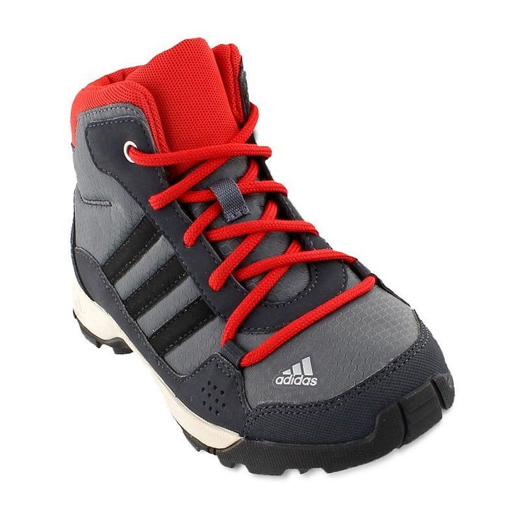 Adidas Outdoor Hyperhiker Kids' Hiking Boots, Kids Unisex, Size: 4.5, Grey
