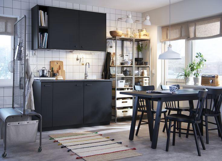 505 best keukens images on pinterest. Black Bedroom Furniture Sets. Home Design Ideas