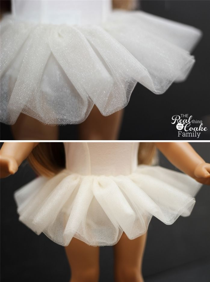 American Girl Doll Clothes Patterns to Make Isabelle's Tutu » The Real Thing with the Coake Family
