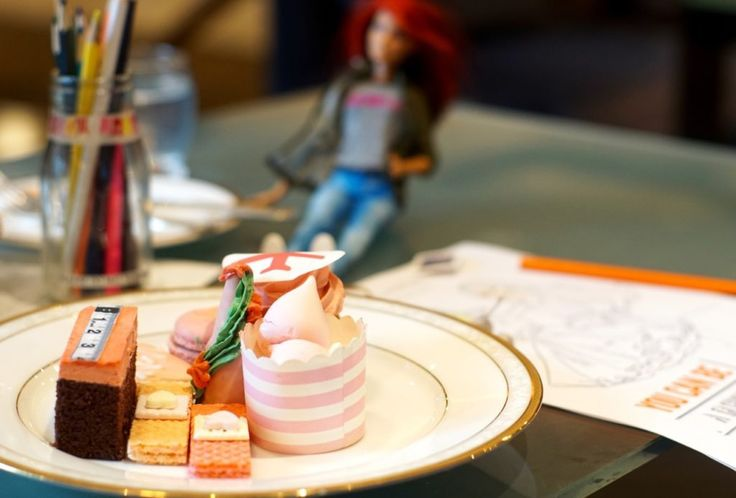 HOT: Barbie You Can Be Anything High Tea, The Langham Melbourne, 1 Southgate Ave, Southbank http://tothotornot.com/2016/09/barbie-you-can-be-anything-high-tea-the-langham-melbourne/