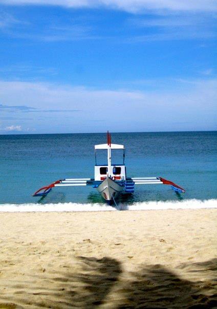 Boats to White Beach - Puerto Galera, Philippines