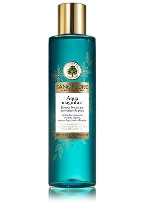 Découvrez Aqua magnifica, Libérer la peau des imperfections de Sanoflore Laboratoire Bio. Essence botanique perfectrice de peau