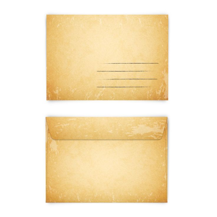 Klassisch und schön! (Briefumschlag, DIN C6 quer) #briefumschlag #kuvert #papeterie #vintage #schlicht #klassisch