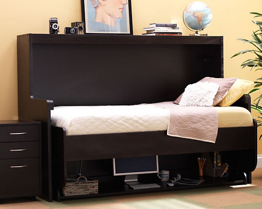 hide away desk bed open guest room and home office 3flat 3flat
