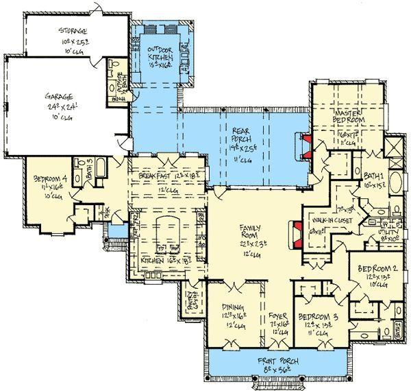 Best 25 acadian house plans ideas on pinterest 4 for Acadian house plans with bonus room
