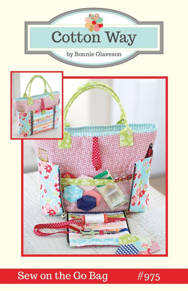 Image of Sew on the Go Bag PDF Pattern #975Lori Manna