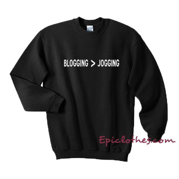 Blogging - Jogging Sweatshirt