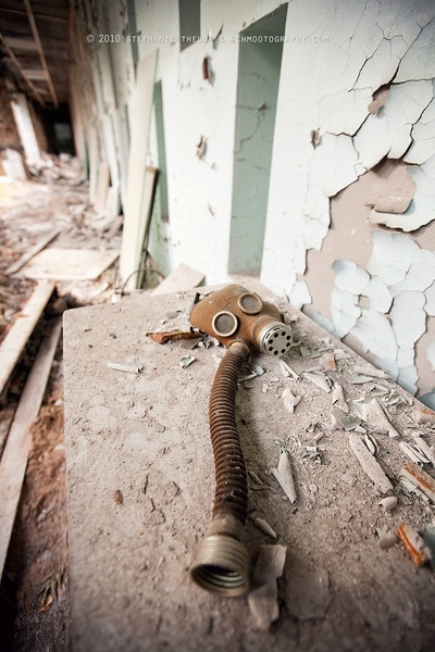 Chernobyl - Can be a little creepy looking at this photo and imagining how things were.