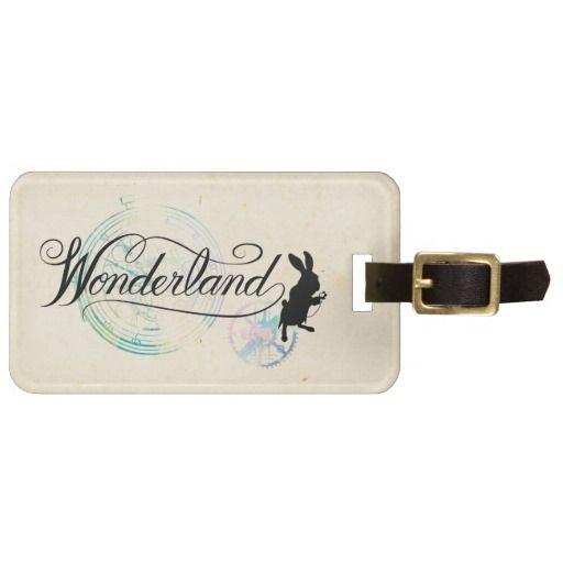 The White Rabbit | Wonderland 2. Regalos, Gifts. #Bag #Tags