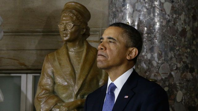 'She Defied Injustice': Rosa Parks Statue Unveiled at Capitol - ABC News