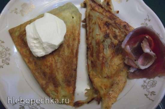 Рёшти и драники в сэндвичнице (Steba)