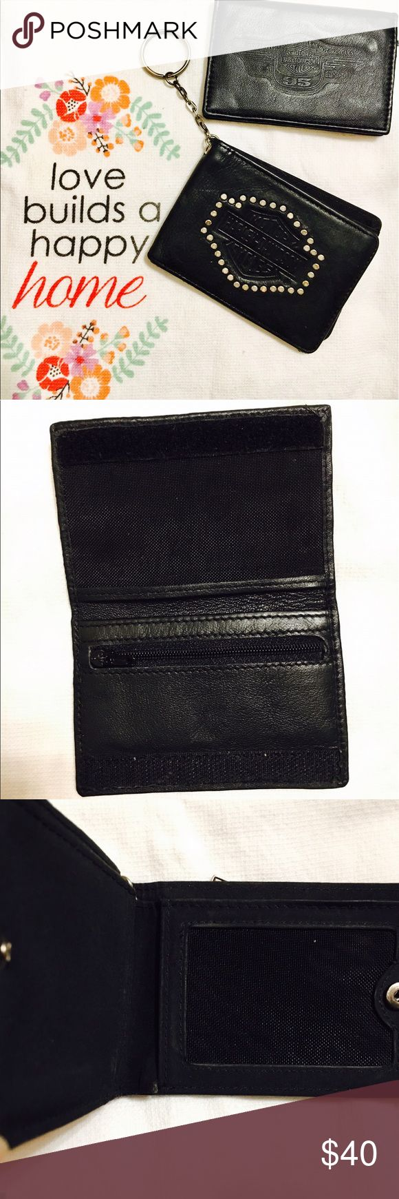 Harley-Davidson Wallets Vintage wallets, small in size but in very good condition Harley-Davidson Bags Wallets