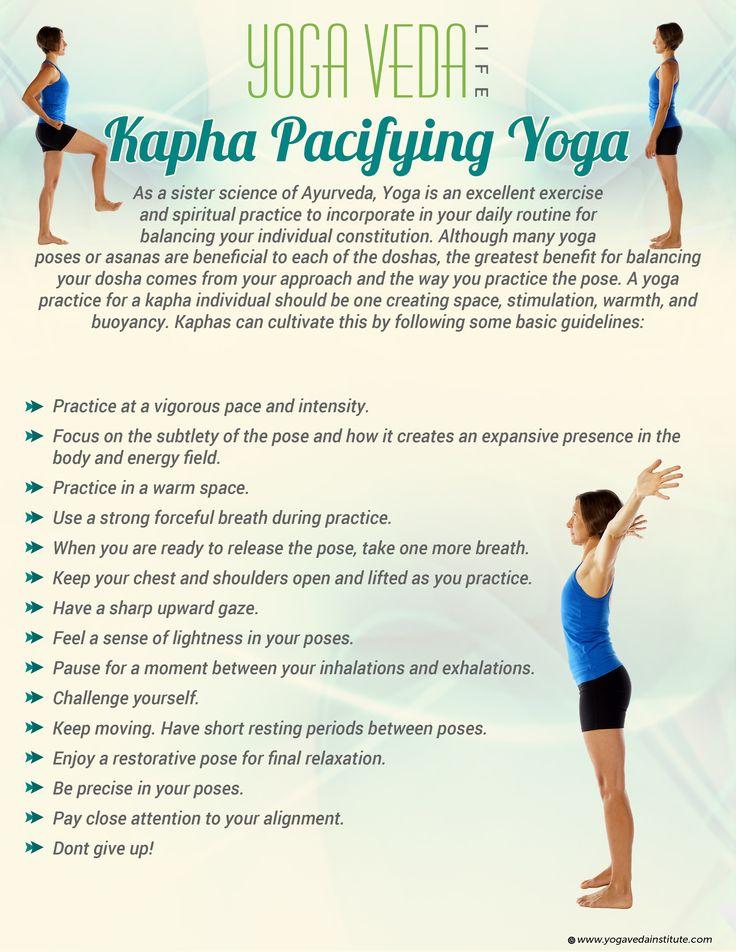 Kapha Pacifying Yoga | Yoga for Your Dosha Type | Sister Science Ayurveda Yoga Therapy | Yoga Veda