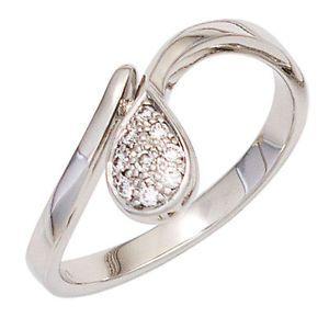Damen Ring 585 Gold Weißgold 9 Diamanten Brillanten 0,08ct. Goldring J42075 http://www.ebay.de/itm/Damen-Ring-585-Gold-Weissgold-9-Diamanten-Brillanten-0-08ct-Goldring-J42075-/151963466899?ssPageName=STRK:MESE:IT