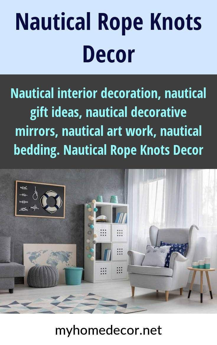 Nautical interior decoration nautical gift ideas nautical decorative mirrors nautical art work nautical bedding nautical rope knots decor please click