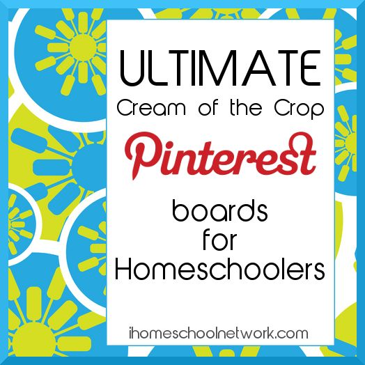 Ultimate Pinterest boards for Homeschoolers by category.  You'll find free curriculum, educational activities for kids, and more!