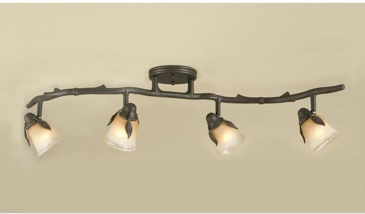 17 best ideas about rustic track lighting on pinterest for S shaped track lighting