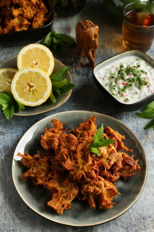 Zöldségpakora retek-uborka raitával recept