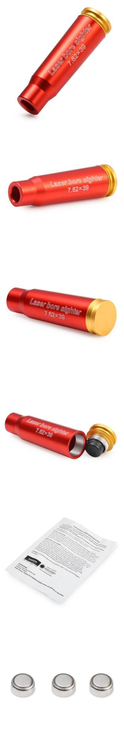 Guns / Hunting Supplies | Rifle Hunting 7.62 x 39RR Cartridge Red Laser Bore Sighter $9.05