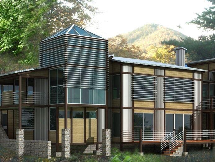 Georgia modern house