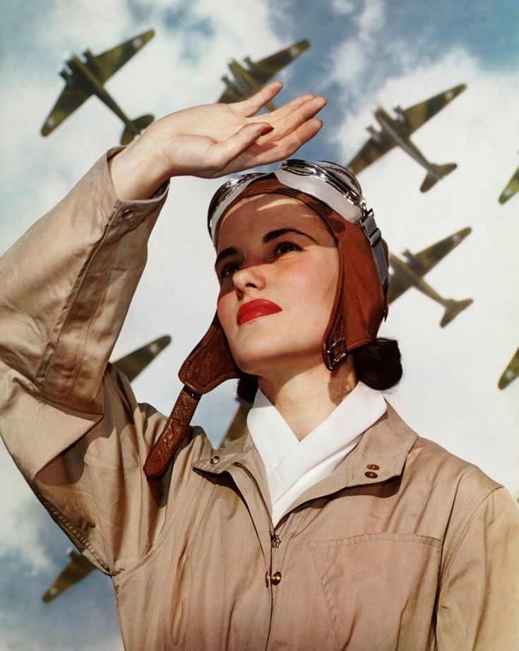The Garden Of Forking Paths — Soldiers of the Sky by Nickolas Muray, 1940