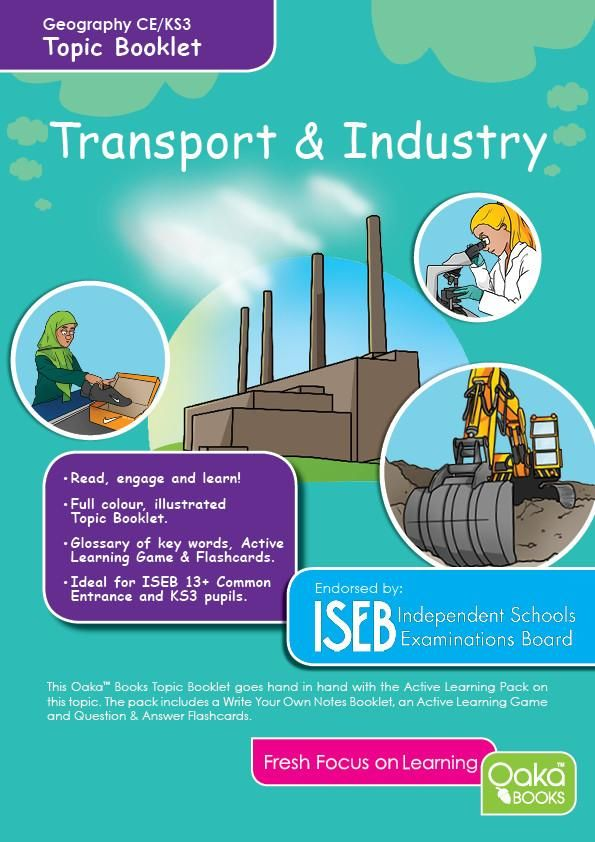 Ce Ks3 Geography Transport And Industry Geography For Kids Geography Learning Activities