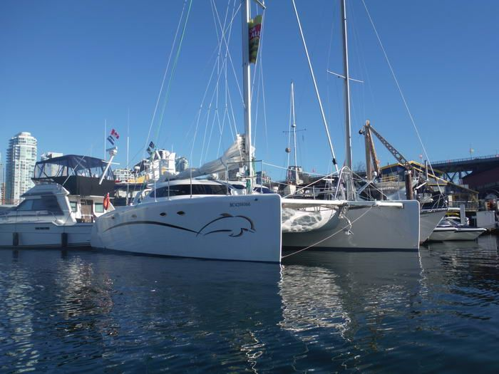 Fusion 40 Cruising Catamaran for sale by owner, Fusion 40 sailing catamaran for sale, Fusion 40 catamaran for sale