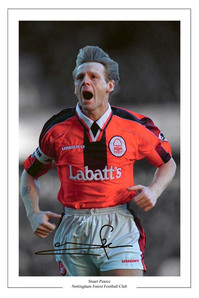 Stuart Pearce Nottingham Forest