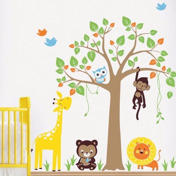 Little Jungle. Infantil. My vinilo. vinilos decorativos. decoración de pared. papel tapiz. Decohunter. Encuentra donde comprar este producto en Colombia