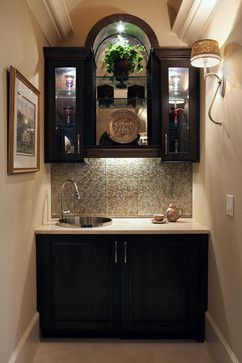 Roswell Women's Showhouse - traditional - wine cellar - atlanta - Specialty Tile Products