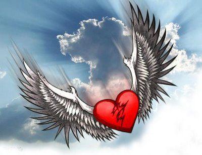 imagen corazon con alas