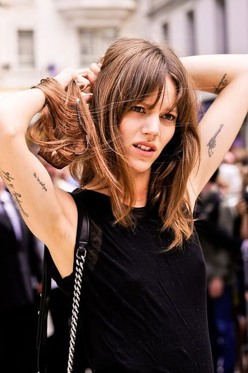 "Freja Beha Erichsen | 40 Top Models With ""Fashionable"" Tattoos Love these"