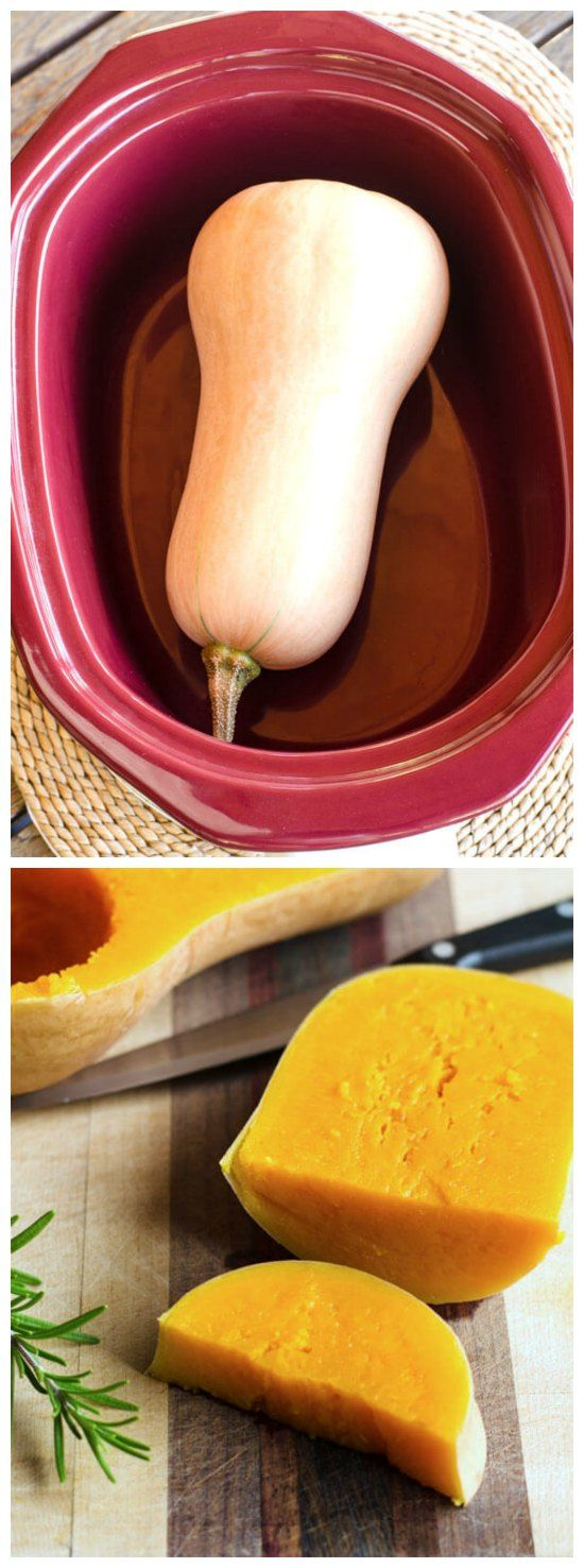 Crock Pot Butternut Squash from Cook Eat Paleo; mind officially blown by this simple idea. This post has a link to all the Slow Cooker Paleo Recipes featured on SlowCookerFromScr..., as well as a couple of other Paleo slow cooker recipes from CookEatPaleo.com.  [found on SlowCookerFromScr...]