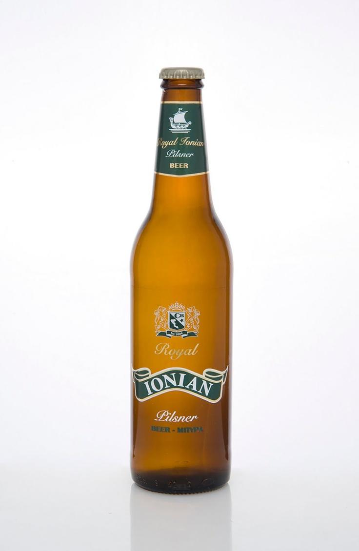 Ionian Royal beer - pivo iz pivare Corfu beer sa Krfa