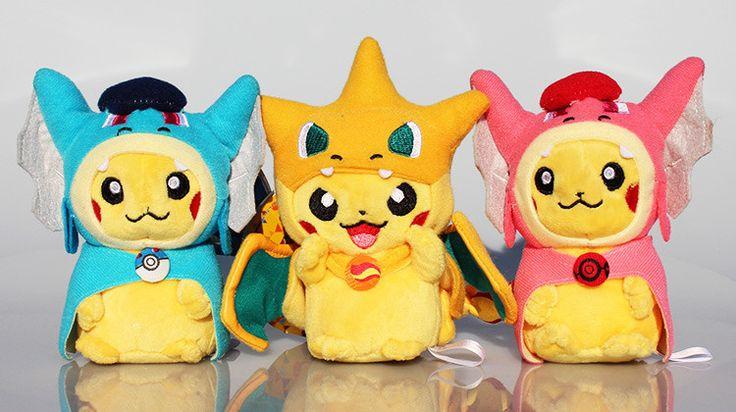3 estilos Cosplay Pikachu Charmander Mega Bichos de Pelúcia Brinquedos de Pelúcia Brinquedos de Pelúcia Bonito Chaveiro Pingente em Stuffed & Plush Animais de Brinquedos Hobbies & no AliExpress.com | Alibaba Group