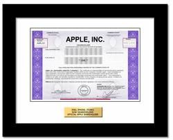 A Real Share of Apple Inc. Stock