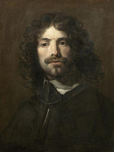 """William Dobson 4 March 1611 (baptised); 28 October 1646 (buried) was a portraitist and one of the first notable English painters, praised by his contemporary John Aubrey as """"the most excellent painter that England has yet bred""""."""
