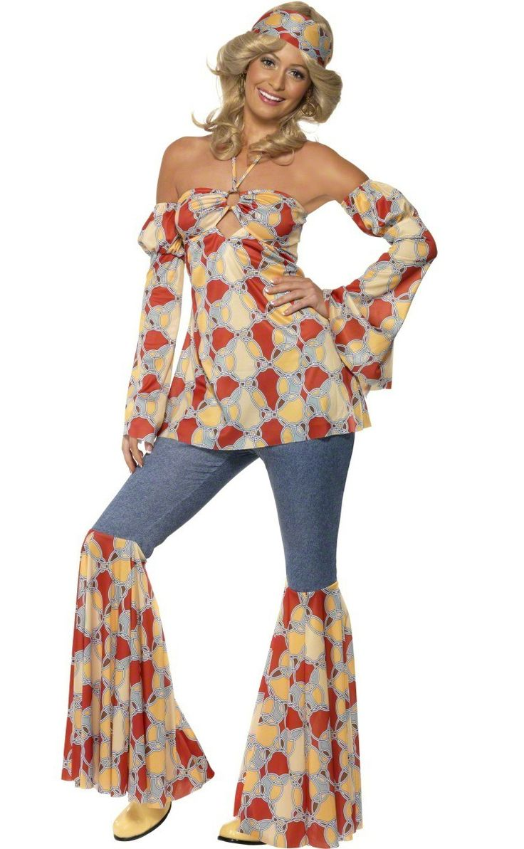 70s disco costume for women : Vegaoo Adults Costumes