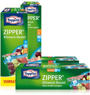 Zipper® from Toppits®